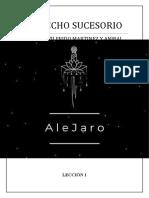 DERECHO SUCESORIO by AleJaro