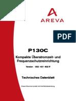 P130C Technical Datasheet de 602 A