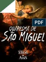 Quaresma de São Miguel - Toca de Assis
