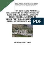 10.- DECLARATORIA DE IMPACTO AMBIENTAL-CANAL SUMARAPI - CABRACANCHA