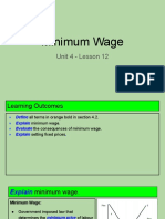 unit 4 - lesson 12 - minimum wage
