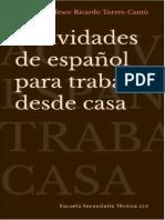 Profesor Ricardo Torres-Cantu_actividades de español para trabajar desde casa
