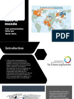 Presentation - Francophonie - Daria