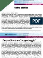 Sintesi della storia d'Italia dall'unità alla caduta di Crispi.L'affermarsi dell'indutrialismo e la