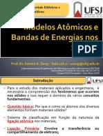 AULA 02 - Modelos Atômicos e Bandas de Energia Nos Sólidos
