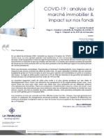 COVID-19 Analyse Du Marche Immobilier Et Impact Sur Nos Fonds 02020