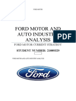 FORD MOTOR assessment
