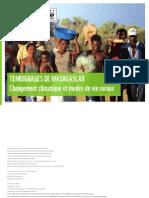 Temoignages de Madagascar - Changement climatique et modes de vie ruraux