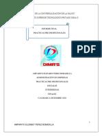 Informe de Practicas AMPARITO