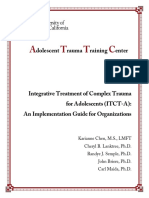 Integrative Treatment of Complex Trauma for Adolescents (ITCT-A)- An Implementation Guide for Organizations 20190904