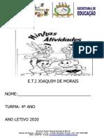 MINHAS ATIVIDADES 4º ANO (1)
