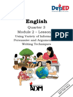 ENGLISH 10 Q3 M2 L2