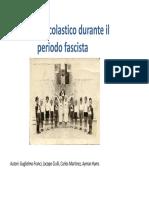 arredo scolastico nel periodo fascista