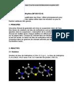 Essai au bleu de méthylène (NF EN 933-9)