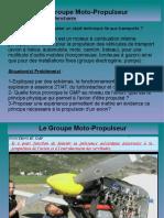 Le Groupe Moto Propulseur Et Les Turbomachines