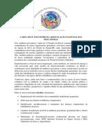 Carta Da ANP 2014