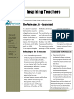 Teacher's Newsletter - March 2011