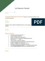 Módulo 5- Sistema Financeiro Nacional