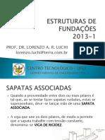 Estruturas de Fundações 3 - Sapatas Associadas e Veq