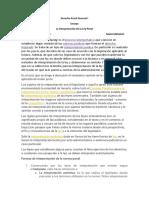 Derecho penal general I La Interpretación