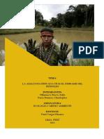 LA AMAZONÍA PERUANA TRAS DERRAME DE PETRÓLEO