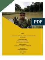 LA AMAZONÍA PERUANA TRAS EL DERRAME DE PETRÓLEO