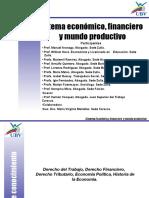 Sistema Económico, Financiero y Mundo Productivo