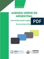 Libro Agenda Verde en Argentina. Walter Pengue. 2021