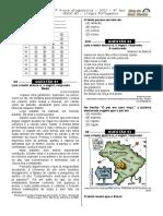 2ª P.D - 2013  (Port. 9º ano - Blog do Prof. Warles)