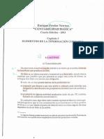 Unidad 1 - Fowler Newton - Contabilidad Basica - Cap 3 - Elementos de la Informacion Contable