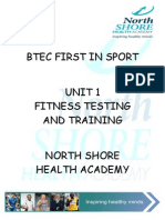 BTEC FIRST IN SPORT UNIT 1 Assignment Booklet