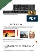 EUCARISTÍA SACRIFICIO DE LA NUEVA LEY
