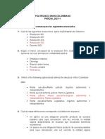 Parcial 1 - Gerencia Financiera