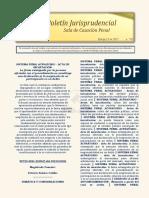 Boletin Jurisprudencial 2021-03-23