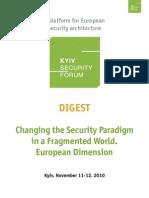 4th Kyiv Security Forum Digest