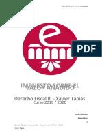 IVA - Ejercicio Liquidación Nº2 - Enunciado