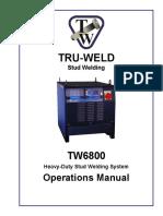 TW6800 Manual