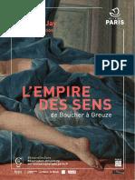 Exposition L'Empire Des Sens au Musée Cognacq-Jay, Paris