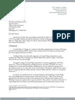 Marcia Fudge Letter