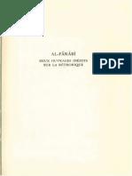 Deux Ouvrages Inédits Sur Lá Réthorique [Sic] I. Kitab Al-Hataba. II. Didascalia in Rethoricam [Sic] Aristotelis Ex Glosa Alpharabi by Abu Nasr Al-Farabi (Z-lib.org)