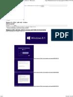 Windows 8.1 RTM - (x86-x64) - Italiano