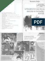 ROJO, R. Letramento(s) - práticas de letramento em diferentes contextos (Capítulo 6)