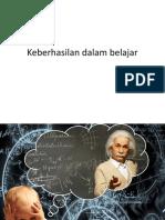 Keberhasilan dalam belajar