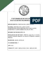 0146 B - 11009 B Ambos Planes  Historia de la Educación Prof Arata_0