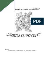 optional  Căsuţa cu poveşti