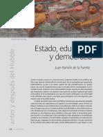 Estado, Educación y Democracia
