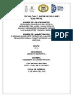 U5 ACTIVIDAD 5.1 REPORTE ESCRITO