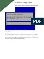 Virtual domain configuration