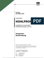DLUBAL Handbuch - Hohlprof - 2009-11