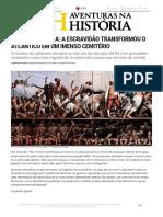 Aventuras Na História · a Grande Agonia_ a Escravidão Transformou o Atlântico Em Um Imenso Cemitério